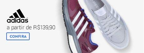 Adidas a partir de R$139,90