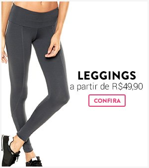 Leggings a partir de R$49,90