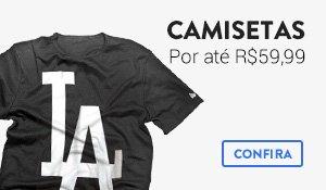 Camisetas até R$59,99