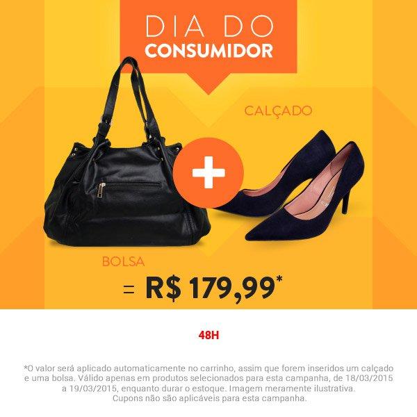 de8f1b03c Coisas de crianças: Dia do consumidor | Compre bolsa + sapato por ...