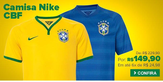 Dafiti  Duas camisas seleção por R  200 b3a8e9dc1f2d5