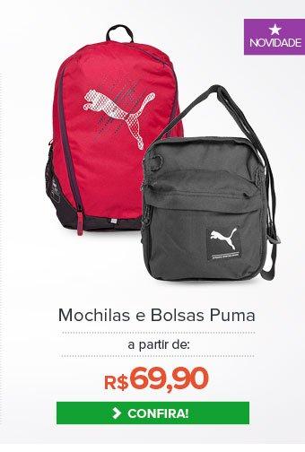 Mochilas e Bolsas Puma