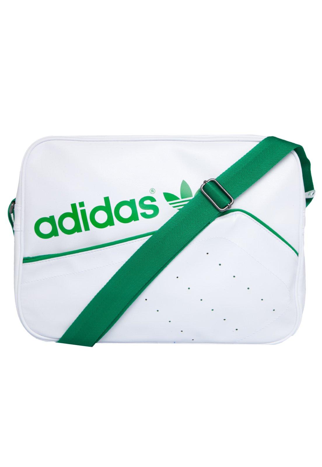 Bolsa Feminina Adidas Branca : Bolsa adidas stan smith airliner