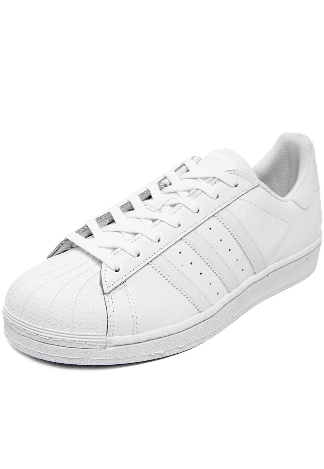 f57a910246c8a7 Tênis adidas Originals Superstar Foundation Branco - Compre Agora ...