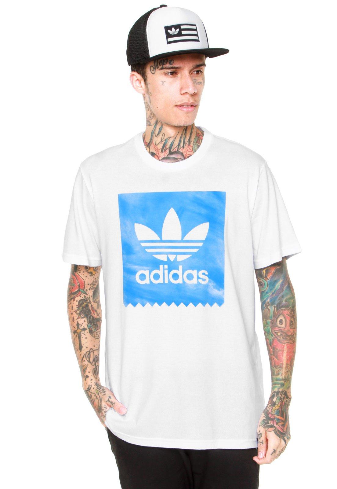 e9d0f9d97a Camiseta adidas Skateboarding Sky Dye Bb Branca - Compre Agora ...