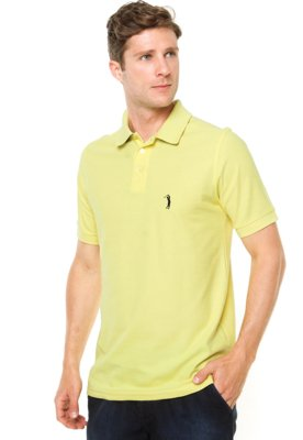 ... Camisa Polo Aleatory Bordado Amarela. Passe o mouse para ver o Zoom 130555628d3ea