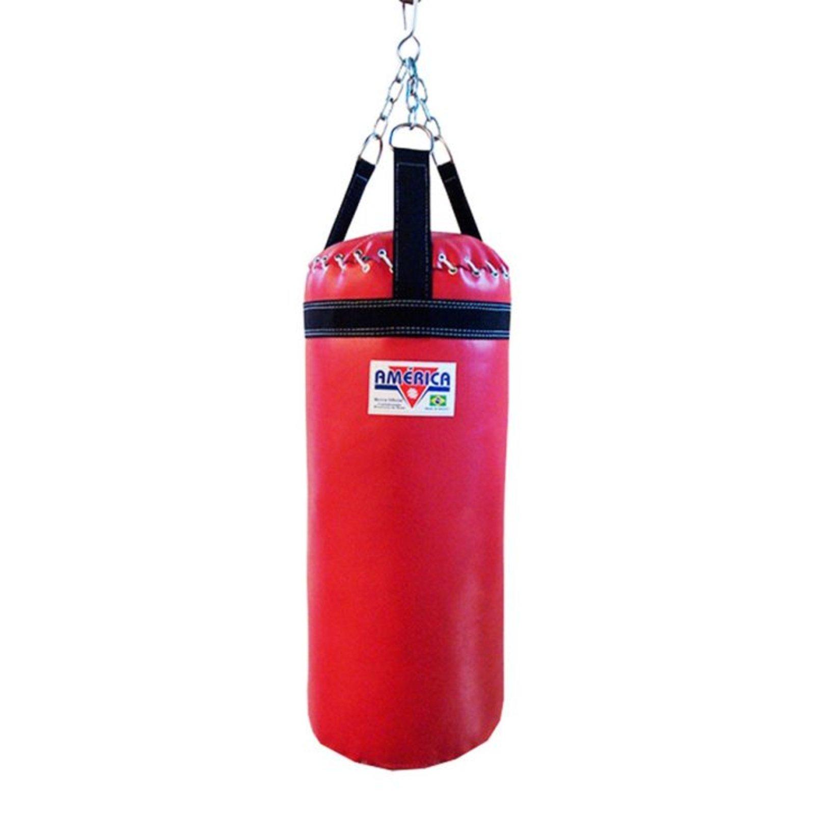 377226ce3c Saco de Pancada 60cm Vermelho América - Compre Agora
