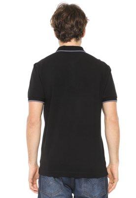 3f2af8fb505 ... Camisa Polo Aramis Bordado Degradê Preta. Passe o mouse para ver o Zoom