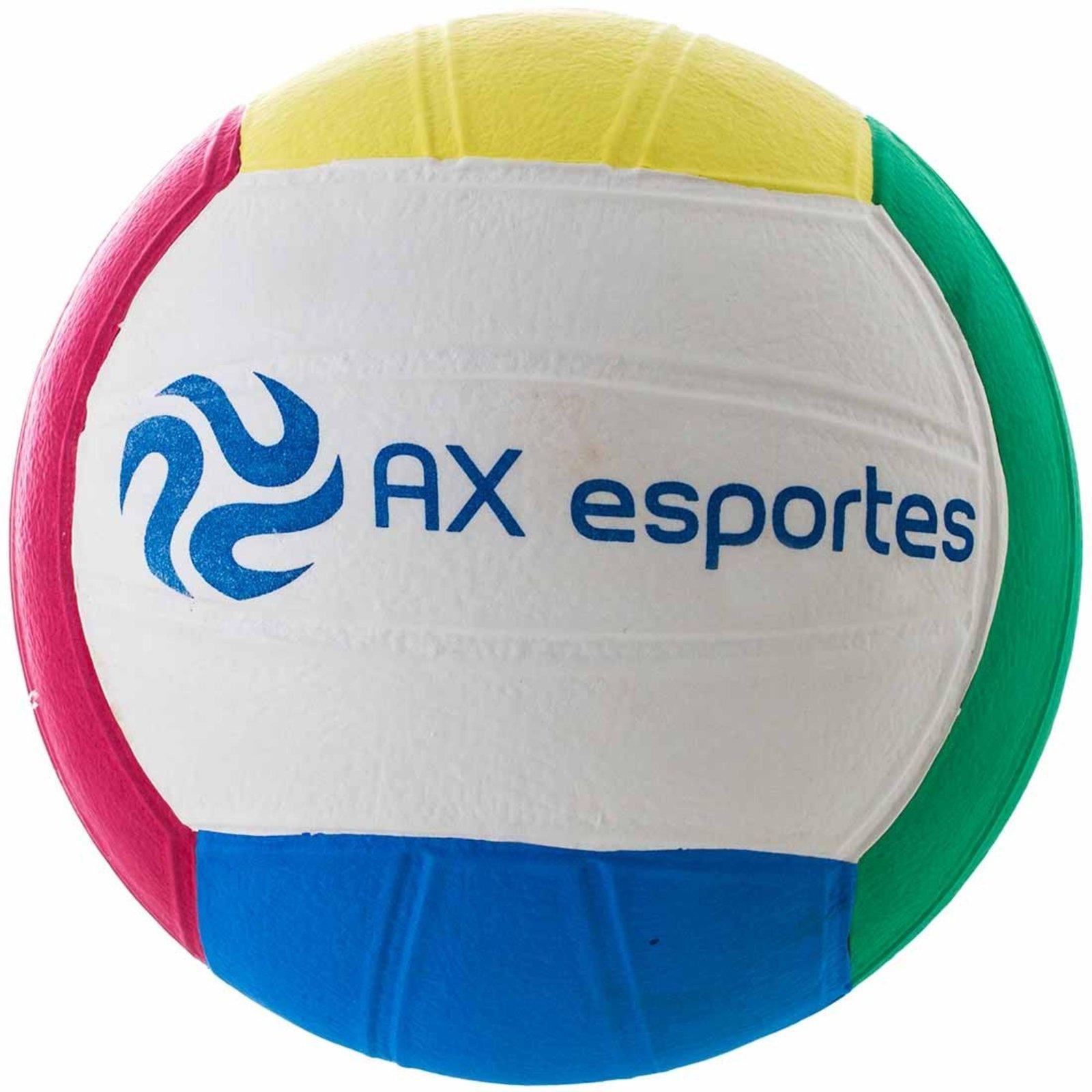 Bola de Vôlei Ax Esportes Em Eva Multicolorido - Compre Agora ... 1c1488df32a52