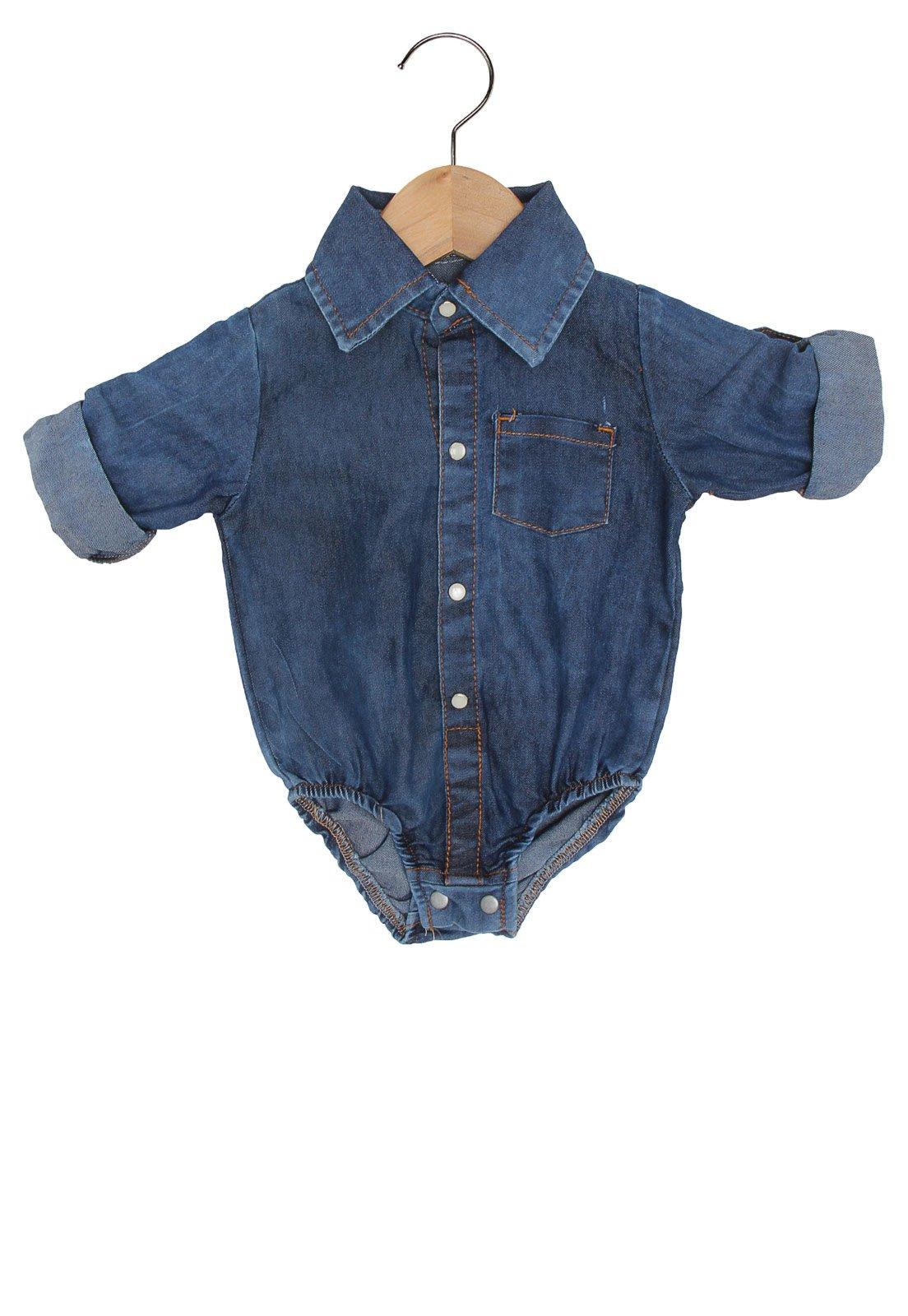 aed4c0b5f4 Aposte no body jeans e deixe o pequeno um arraso