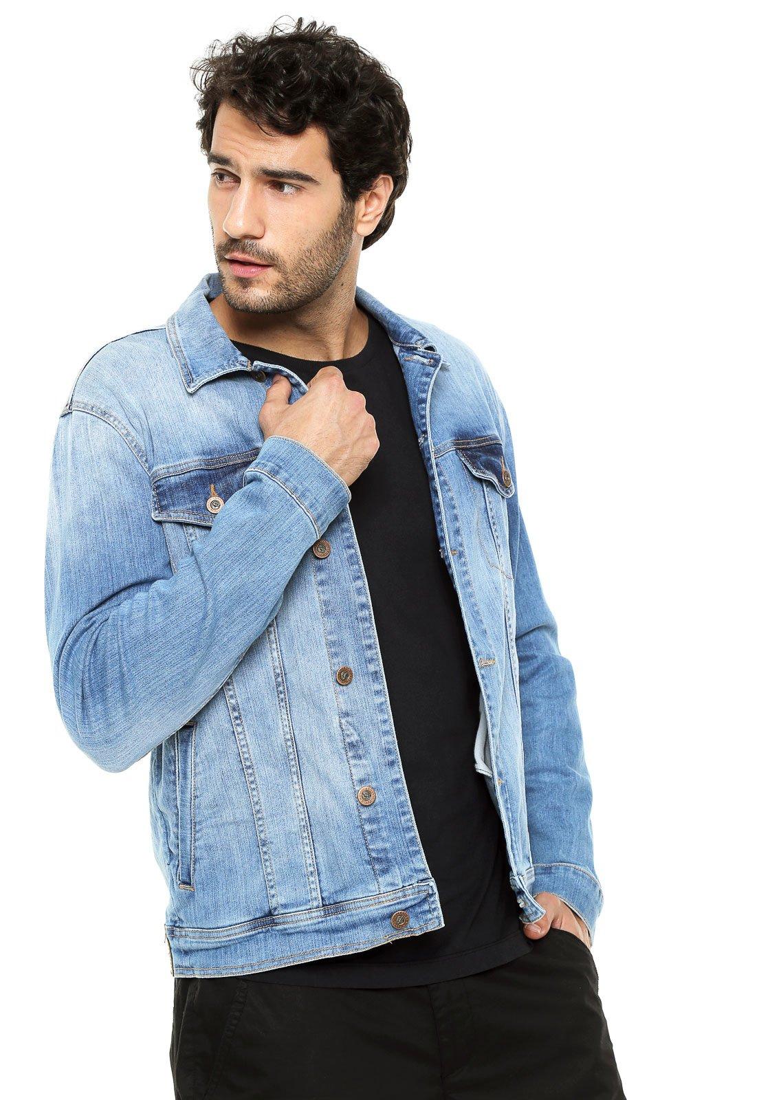 40e978b25 Jaqueta Jeans Colcci Estonada Azul - Compre Agora | Kanui Brasil