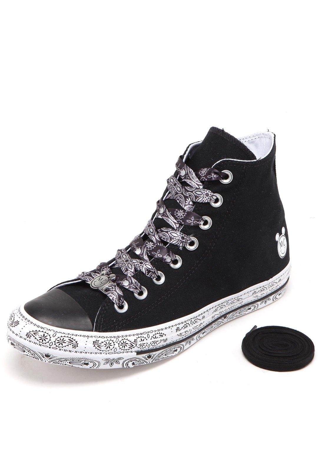 Adivinha quem aterrissou aqui na Kanui  Miley Cyrus com sua coleção em  parceria com a Converse! Vem curtir esse calçado pra lá de charmoso.  D 0c9a4853839af