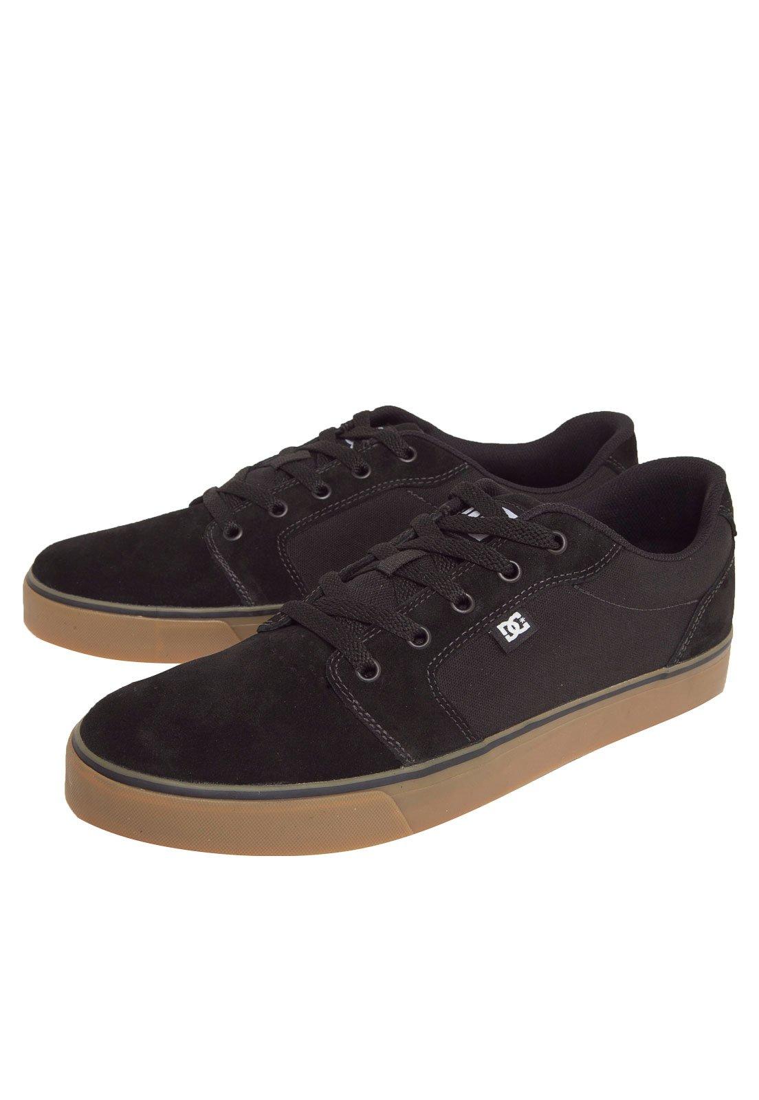 Tênis DC Shoes Anvil 2 La Preto - Compre Agora  bd2e38981d41f