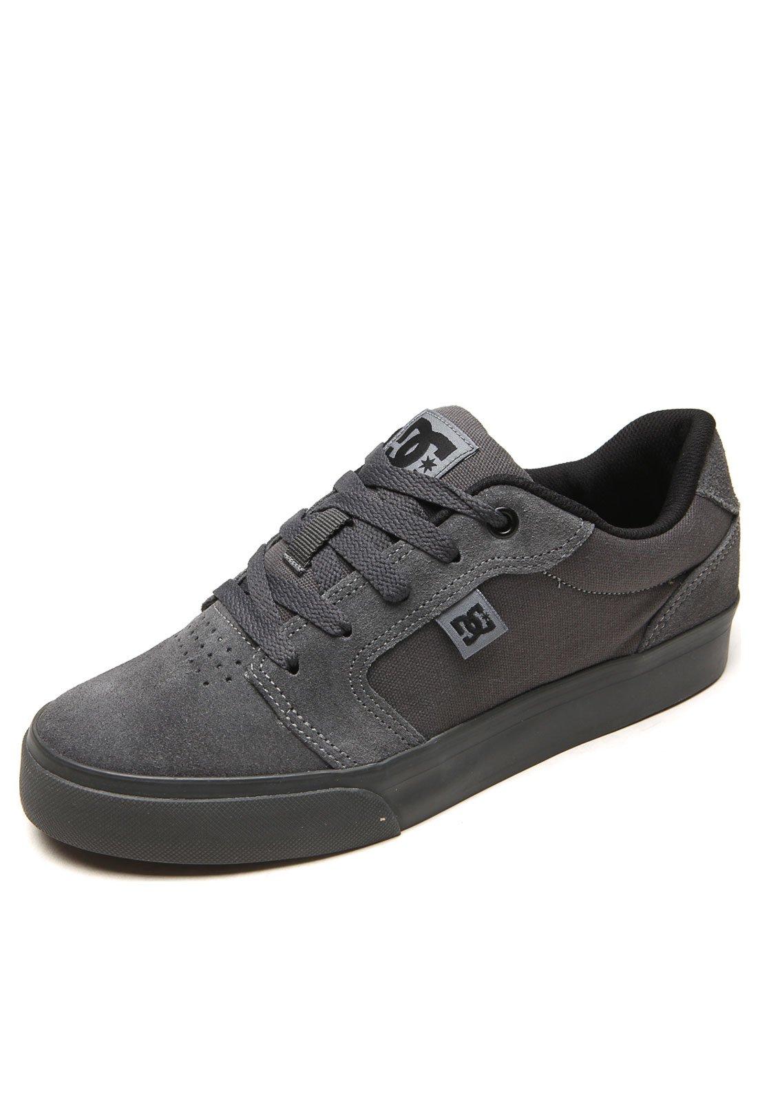 Tênis DC Shoes Anvil LA Cinza - Compre Agora  ed3766643fcc2