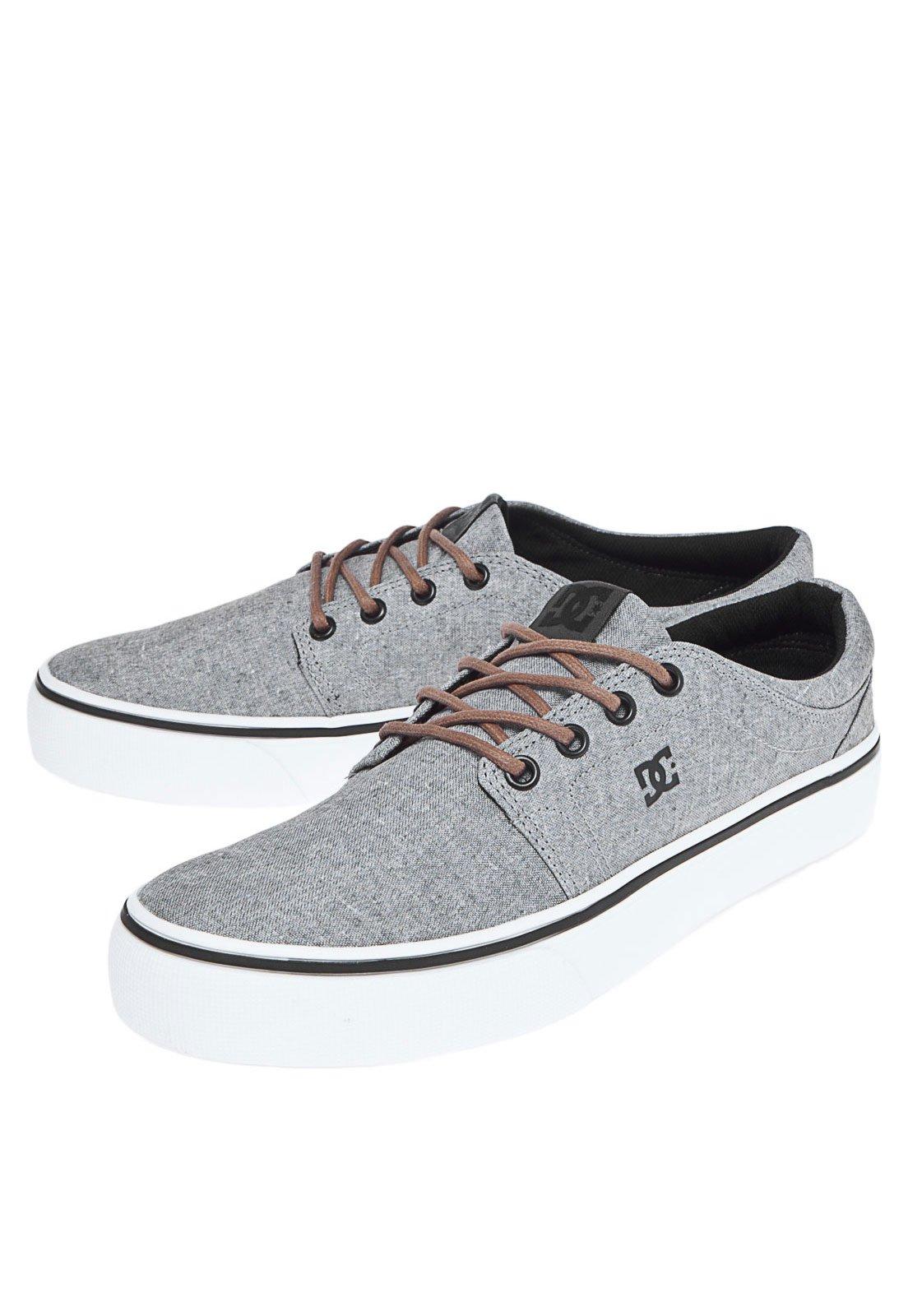 Tênis DC Shoes Trase Tx Se Cinza - Compre Agora  e4a4bf7b4990a