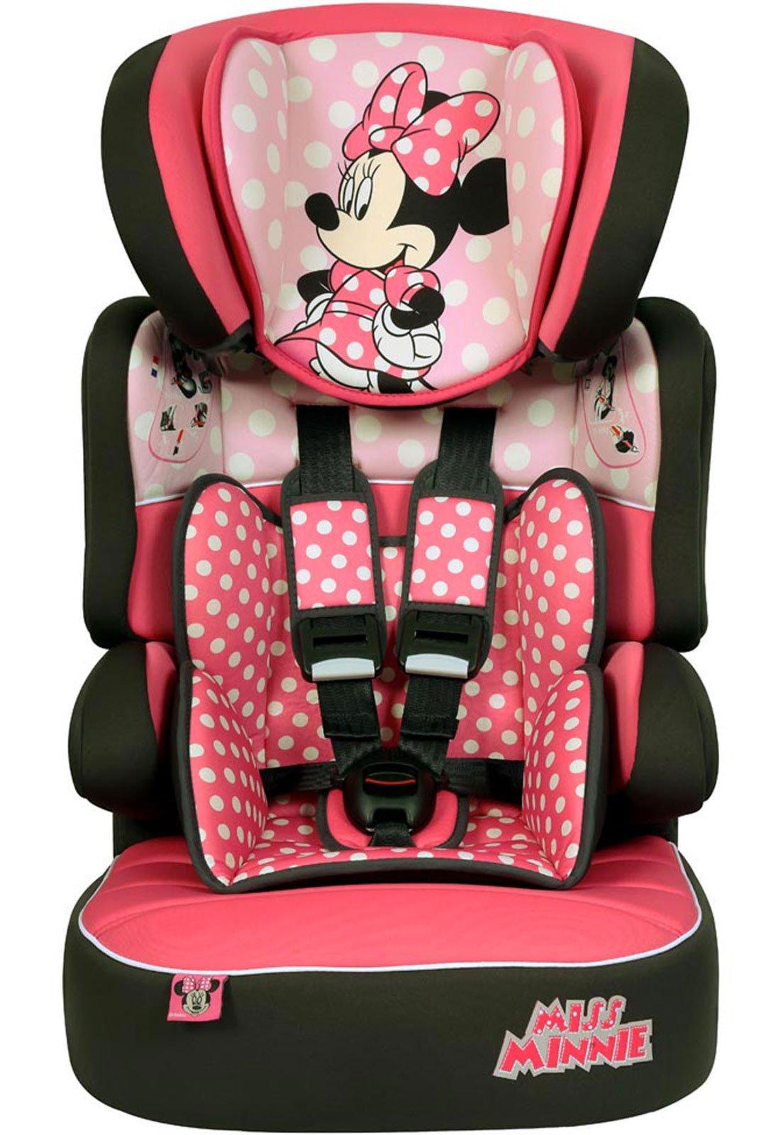 c19dcf2a5 Cadeira Para Auto 9 a 36 Kg Disney Beline SP Rosa Minnie - Compre Agora