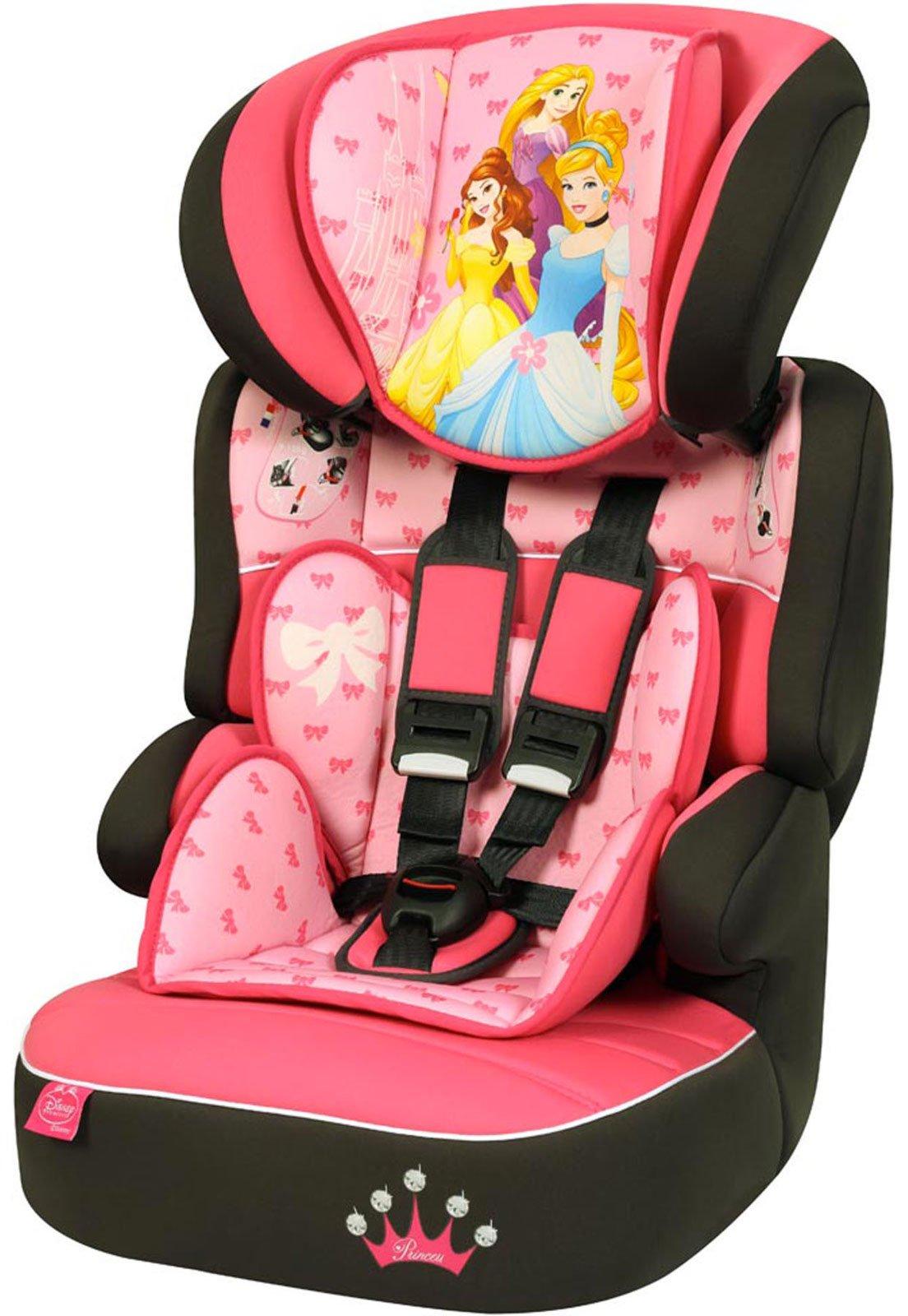 bfc204612 Cadeira Para Auto 9 a 36 Kg Disney Beline SP Rosa Princesas - Compre Agora
