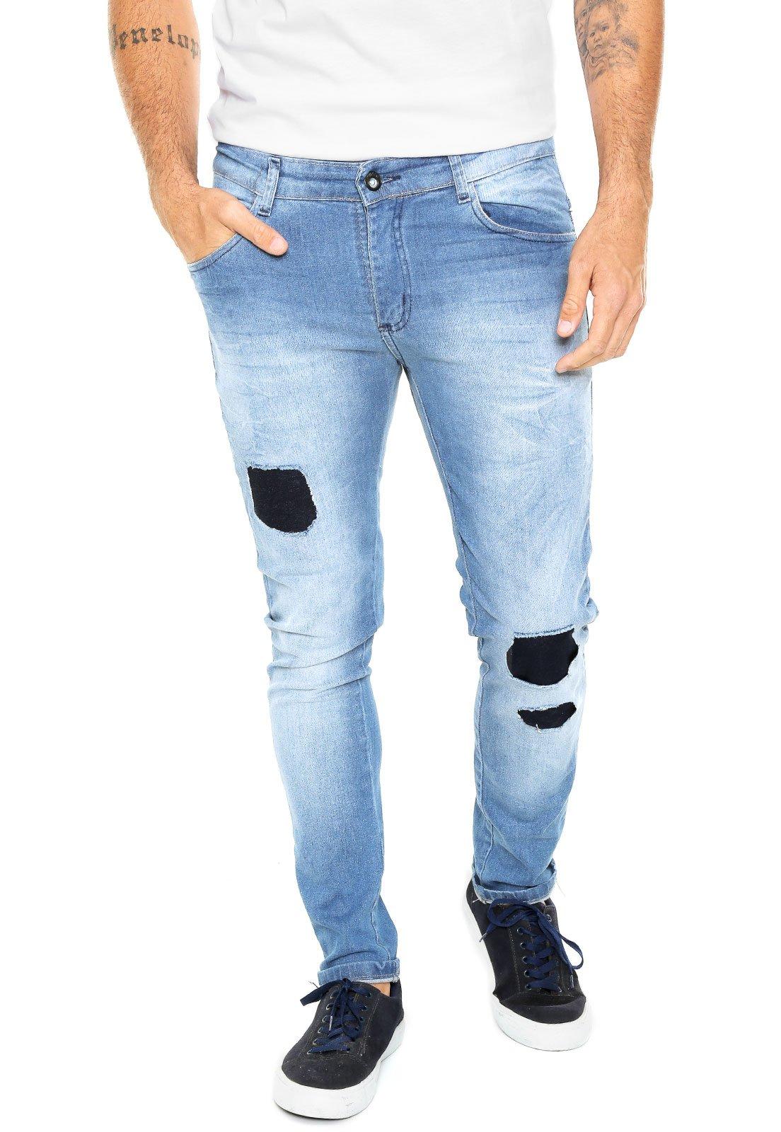 9fbf1b4e4c4ac Calça Jeans FiveBlu Reta Cincinnati Azul - Compre Agora