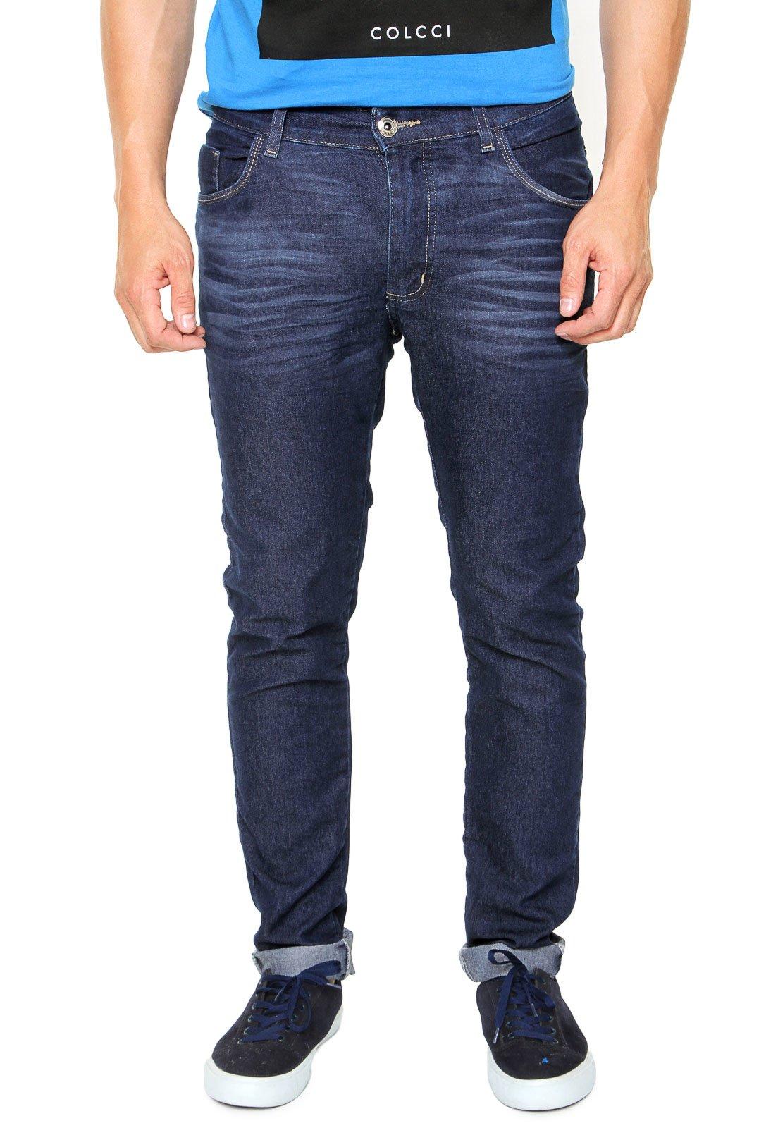 8b6d8696ed6e9 Calça Jeans FiveBlu Slim Eco Azul - Marca FiveBlu ...