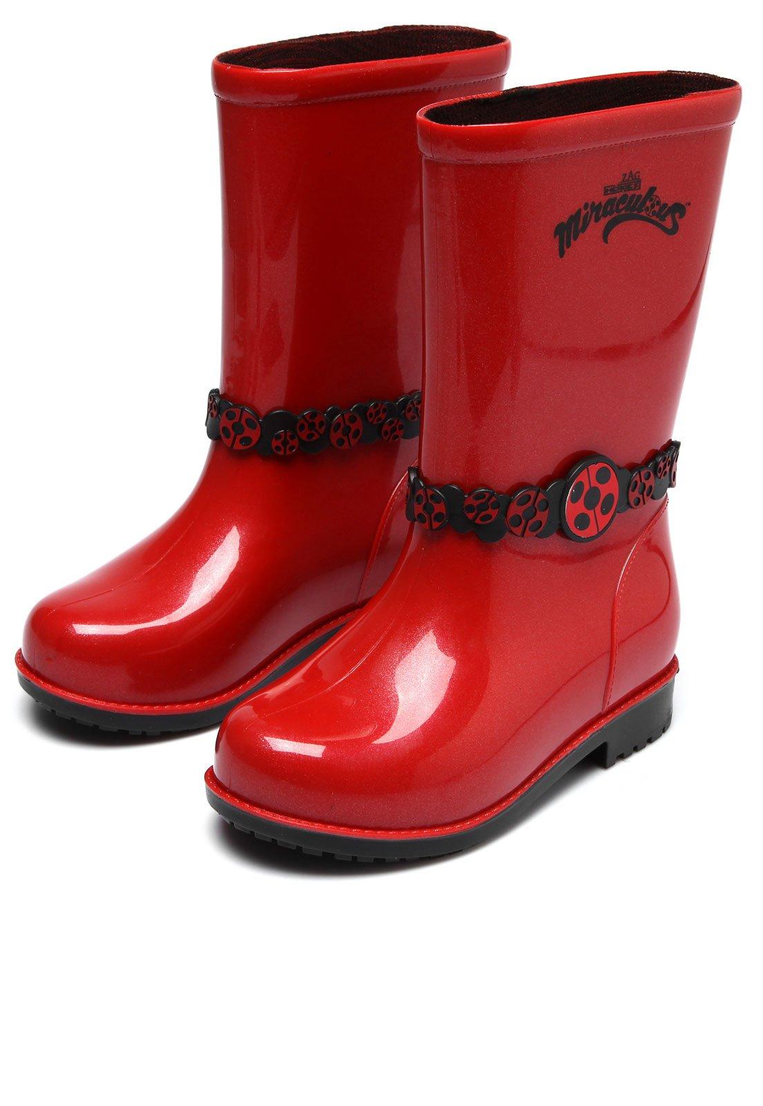 53ecd7b2330 Galocha Grendene Kids Ladybug Miraculous Vermelho - Compre Agora ...