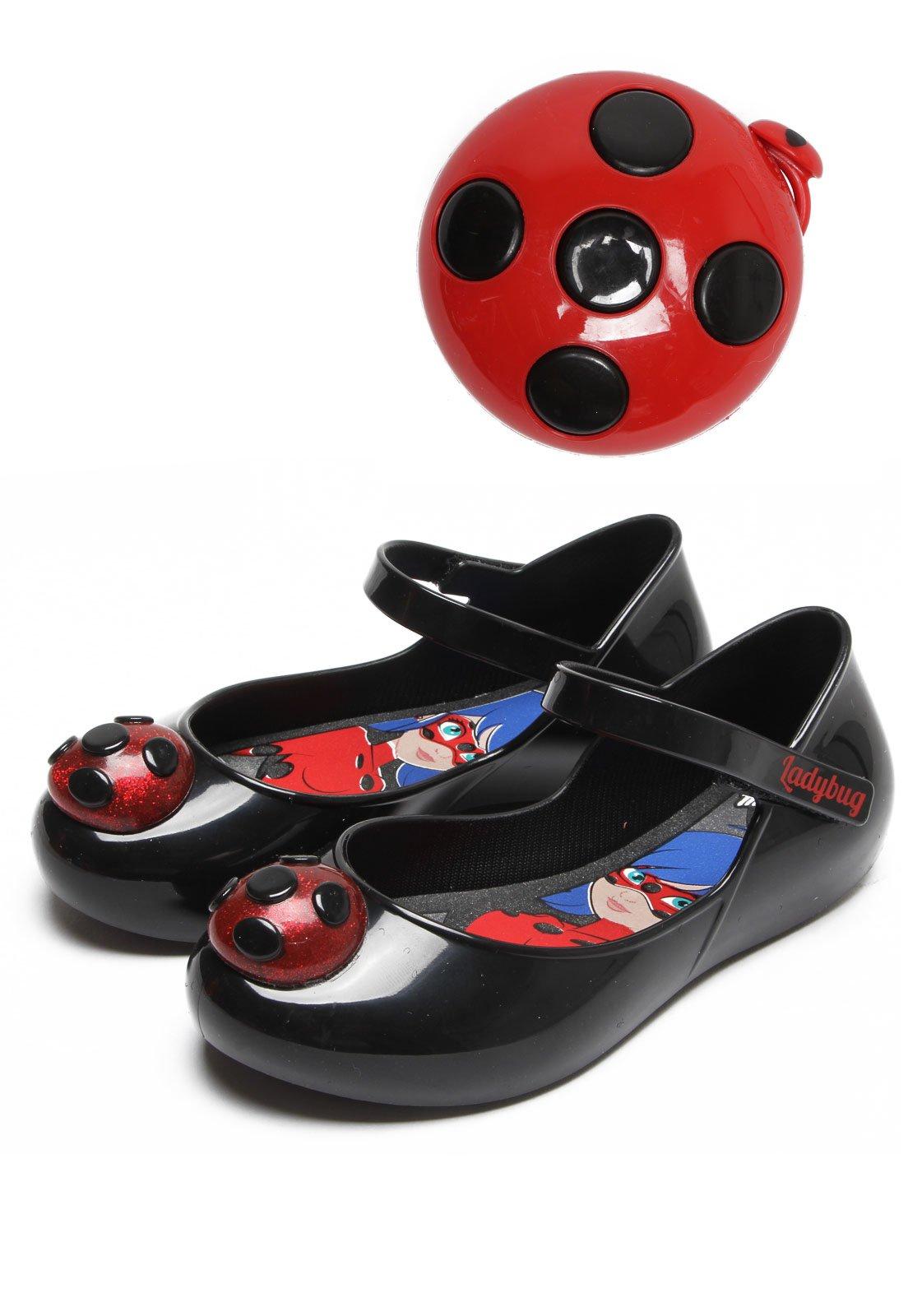 eca846ead5 Sapatilha Grendene Kids Ladybug Miraculous Preto - Compre Agora ...