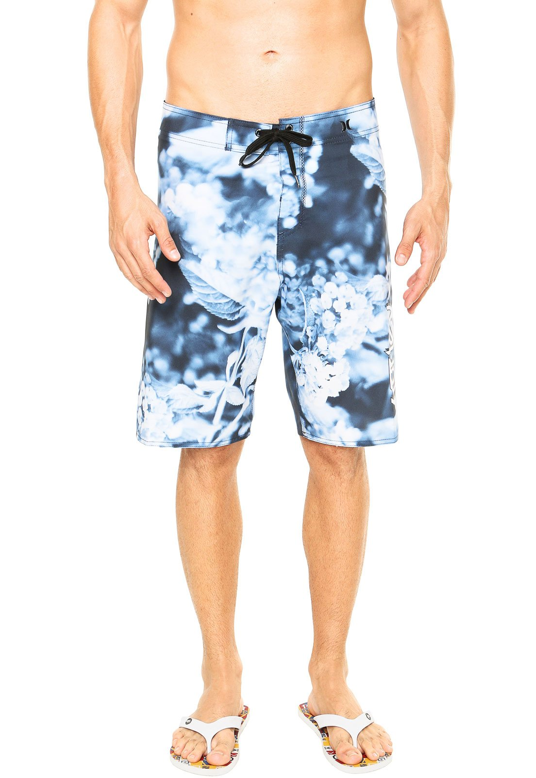 Bermuda Hurley Original Azul - Compre Agora  cf4d6e0a669