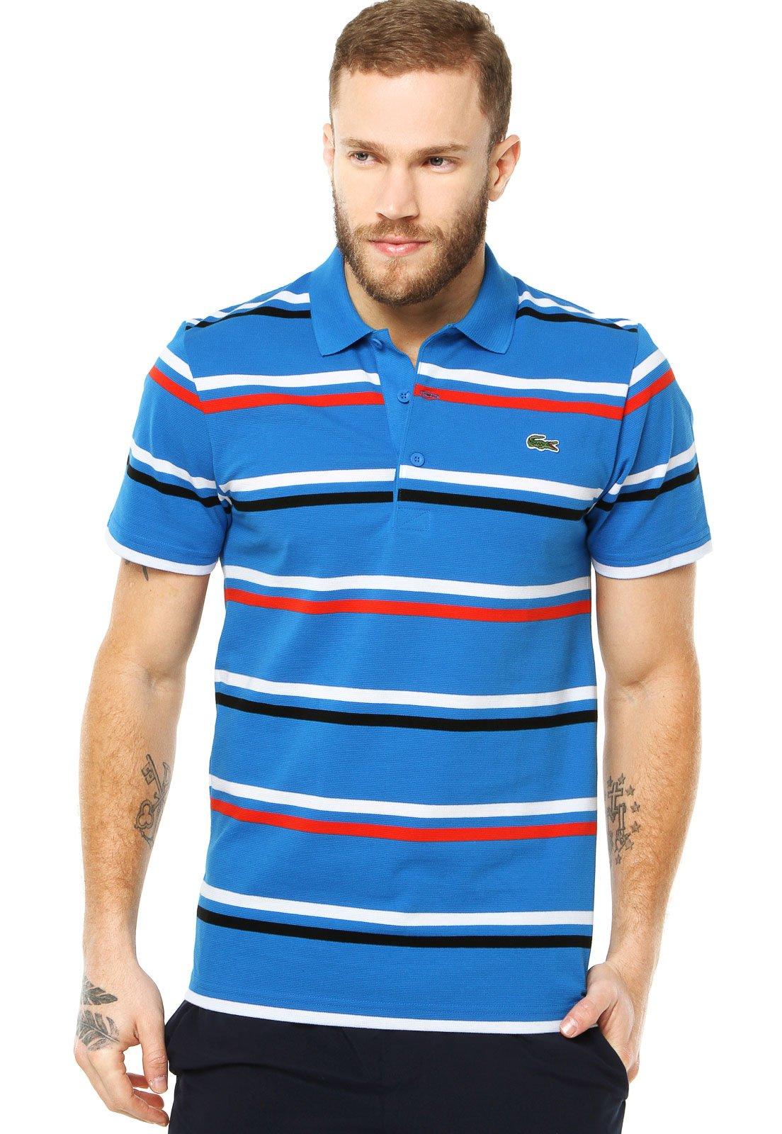 camiseta lacoste listrada 2cf3535d67