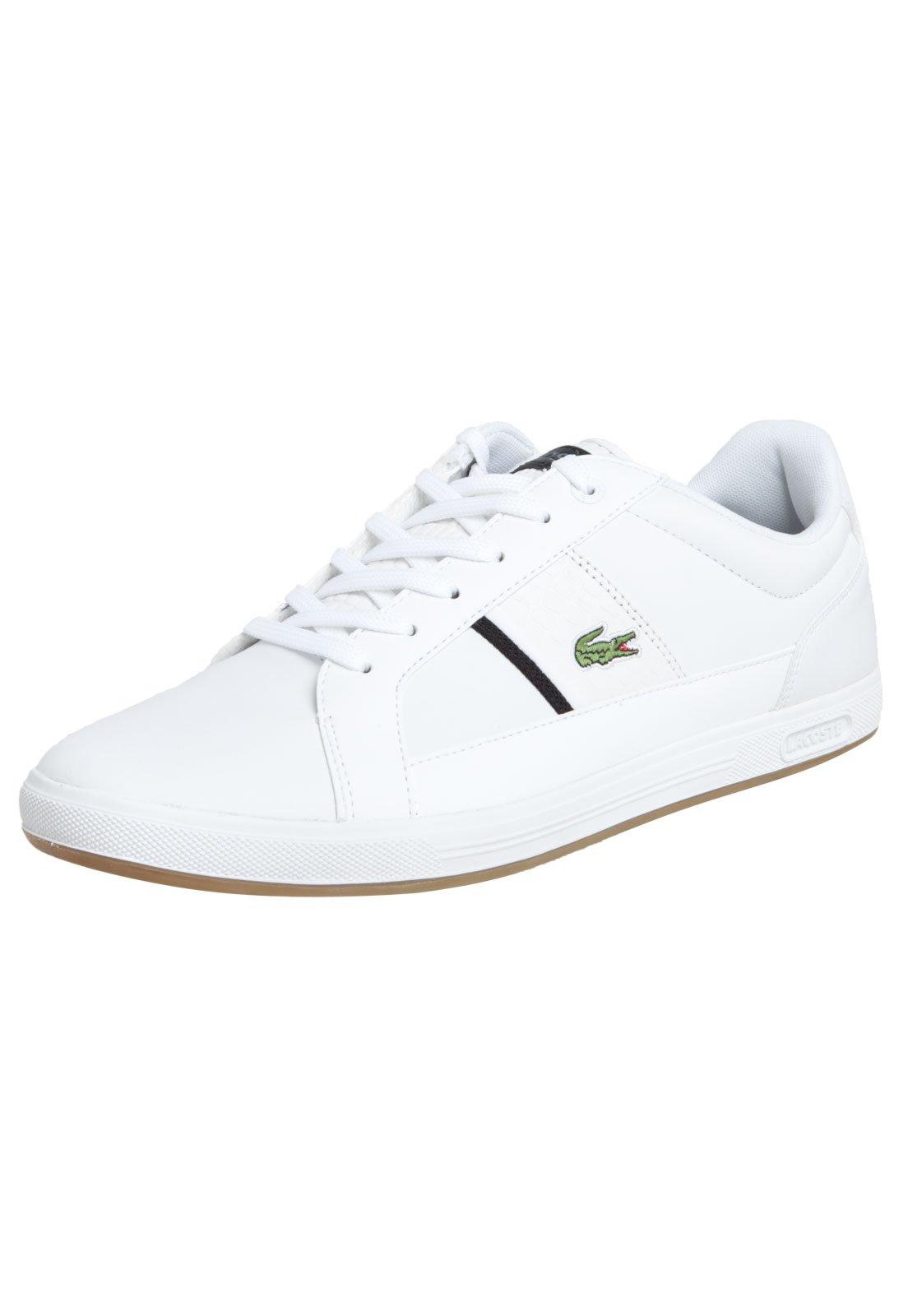 df1af3509d226 ... tenis lacoste branco feminino ...