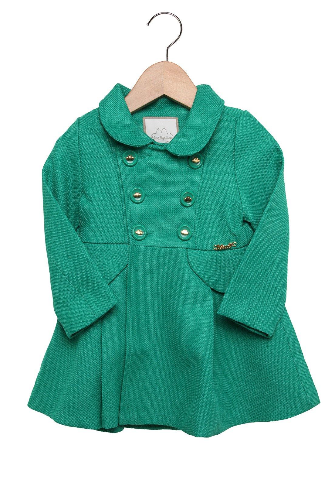 9218c34e4c Casaco Lilica Ripilica Menina Verde - Compre Agora