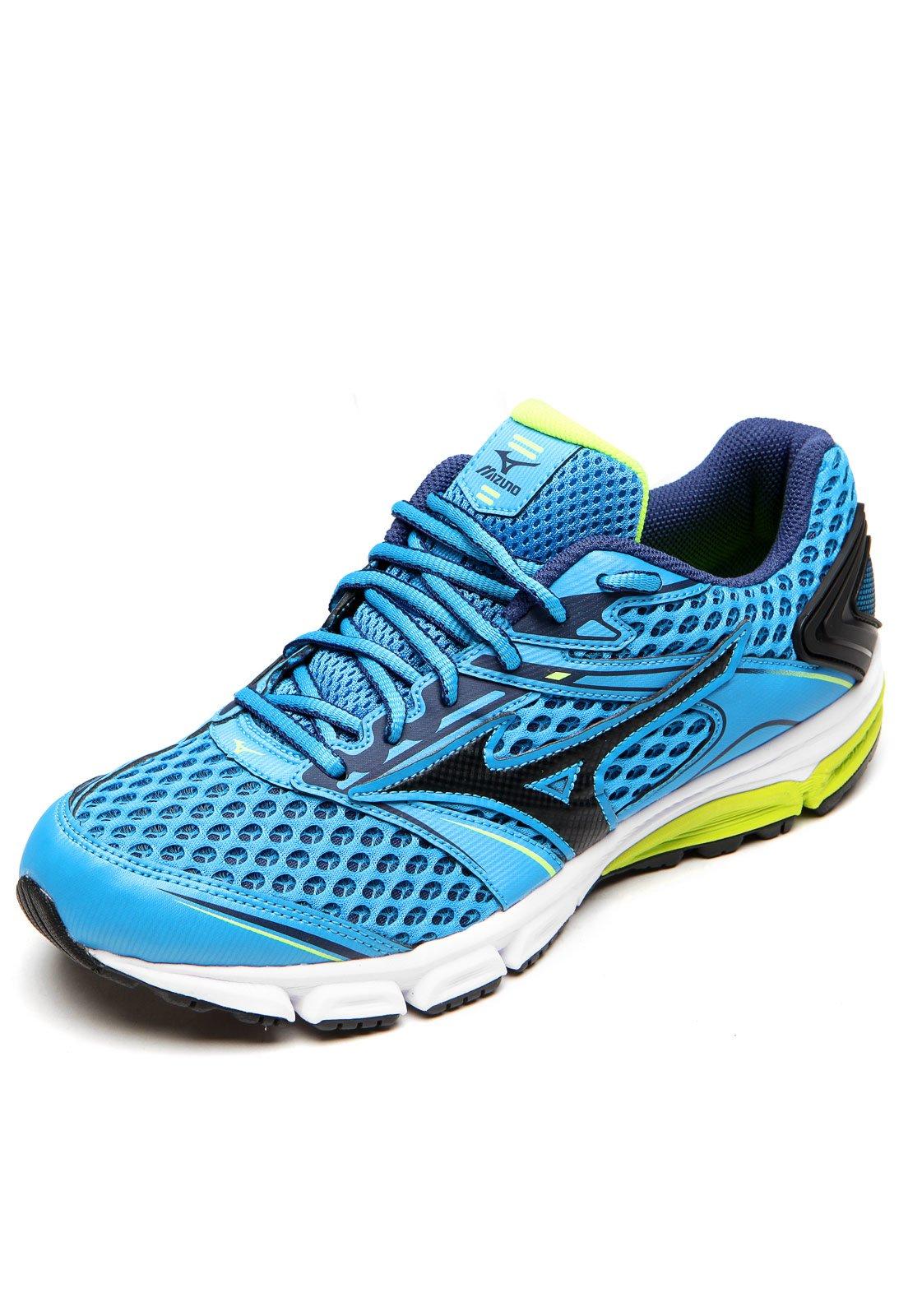 Tênis Mizuno Iron P Azul - Compre Agora  6daca2f23aac0