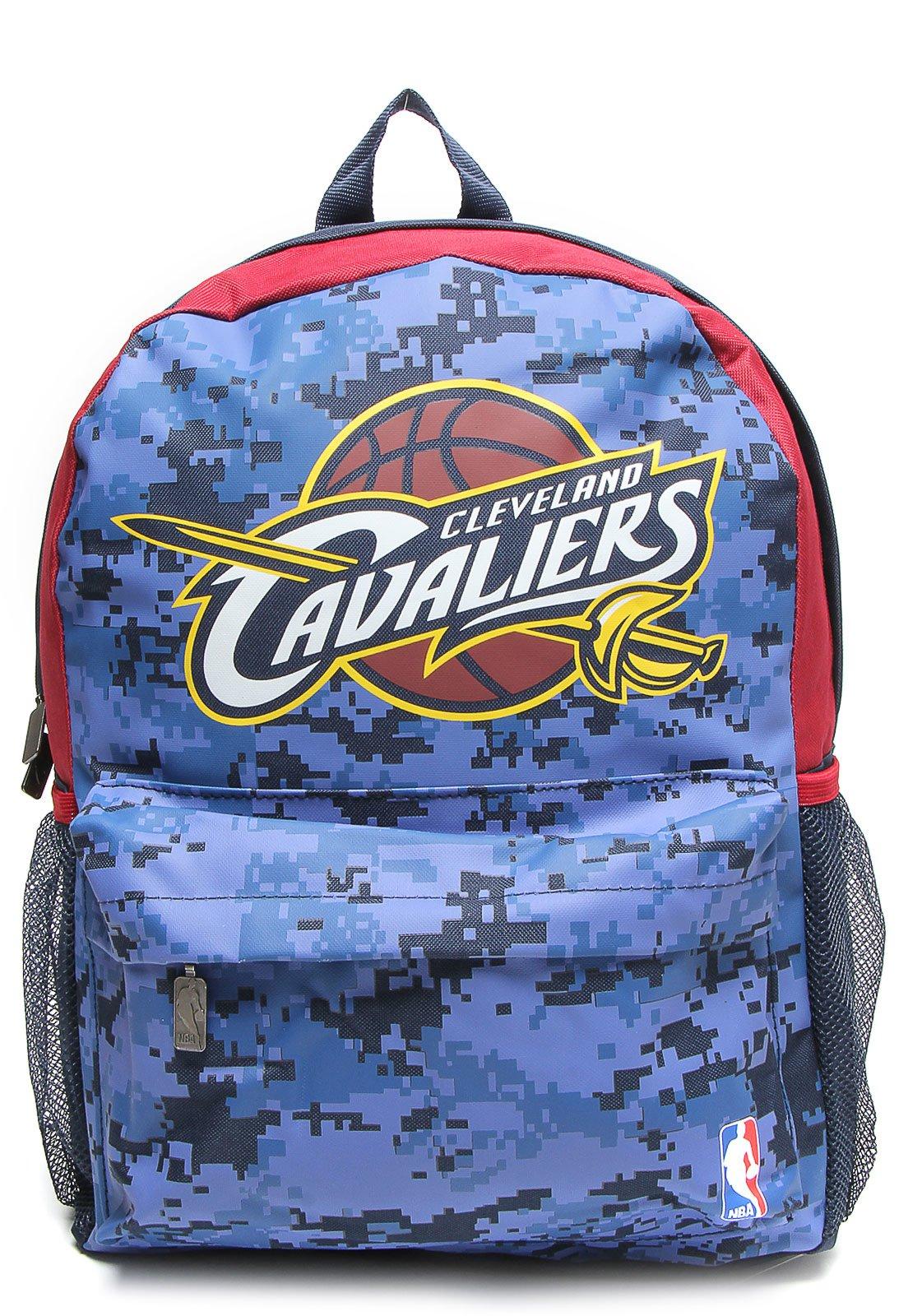 a0fe134f4 Mochila NBA Média Cavaliers Sublimada 17 Azul - Compre Agora | Kanui Brasil