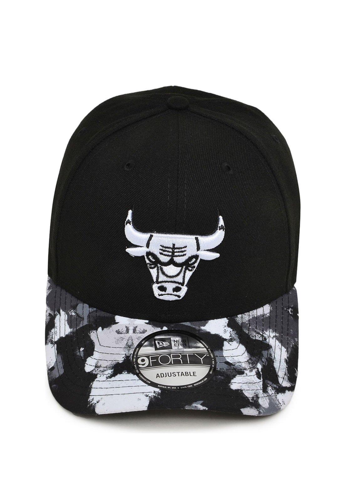 c56f47a71 Boné New Era Snapback Chicago Bulls NBA Preto - Compre Agora
