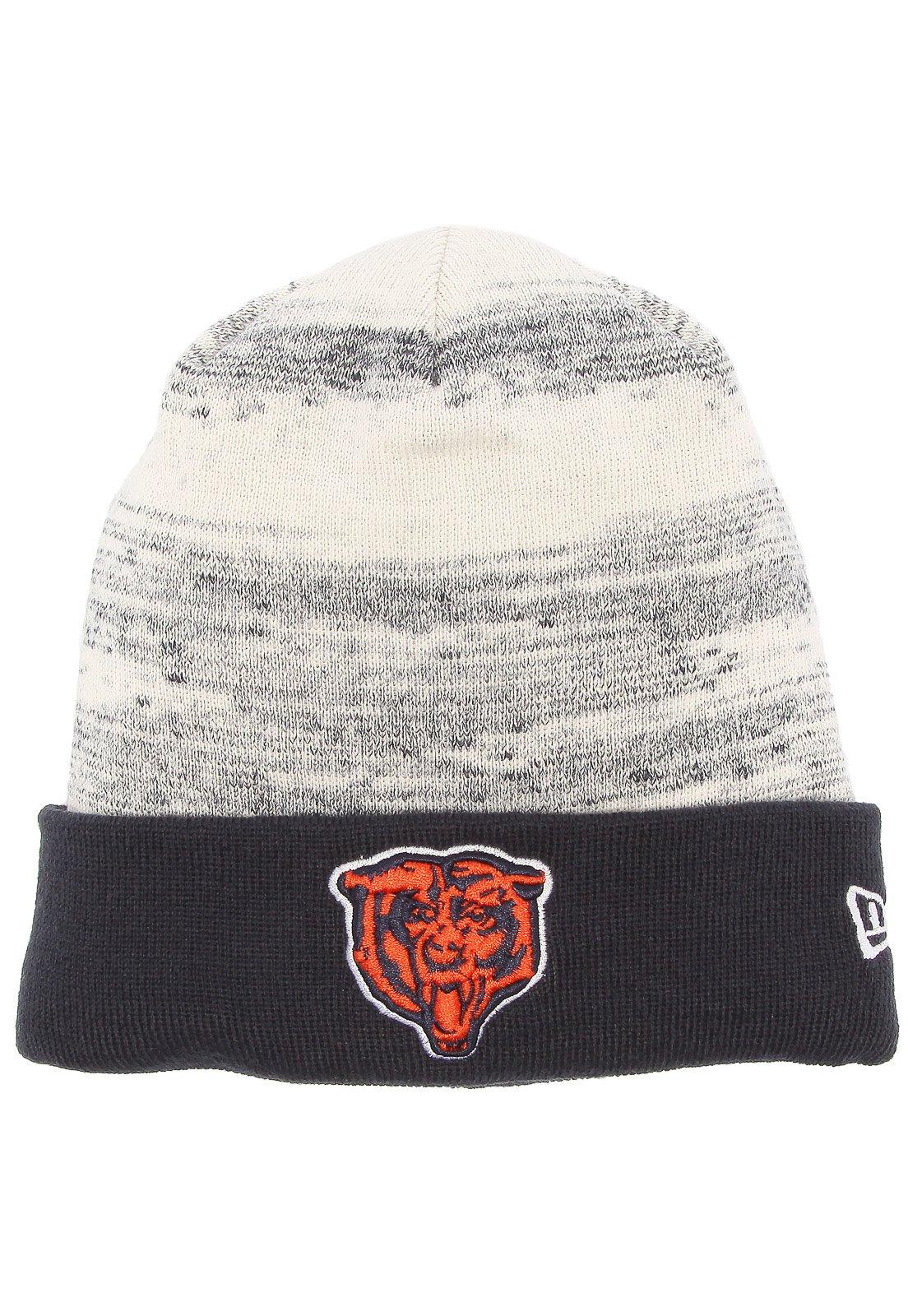 Gorro New Era Chicago Bears Cinza Azul - Marca New Era ... 809c53851d1