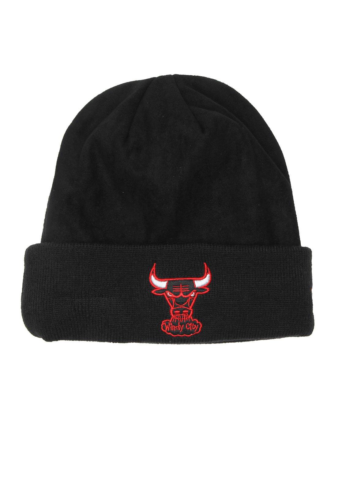 Gorro New Era Chicago Bulls Preto - Marca New Era ... 8c5126fc653