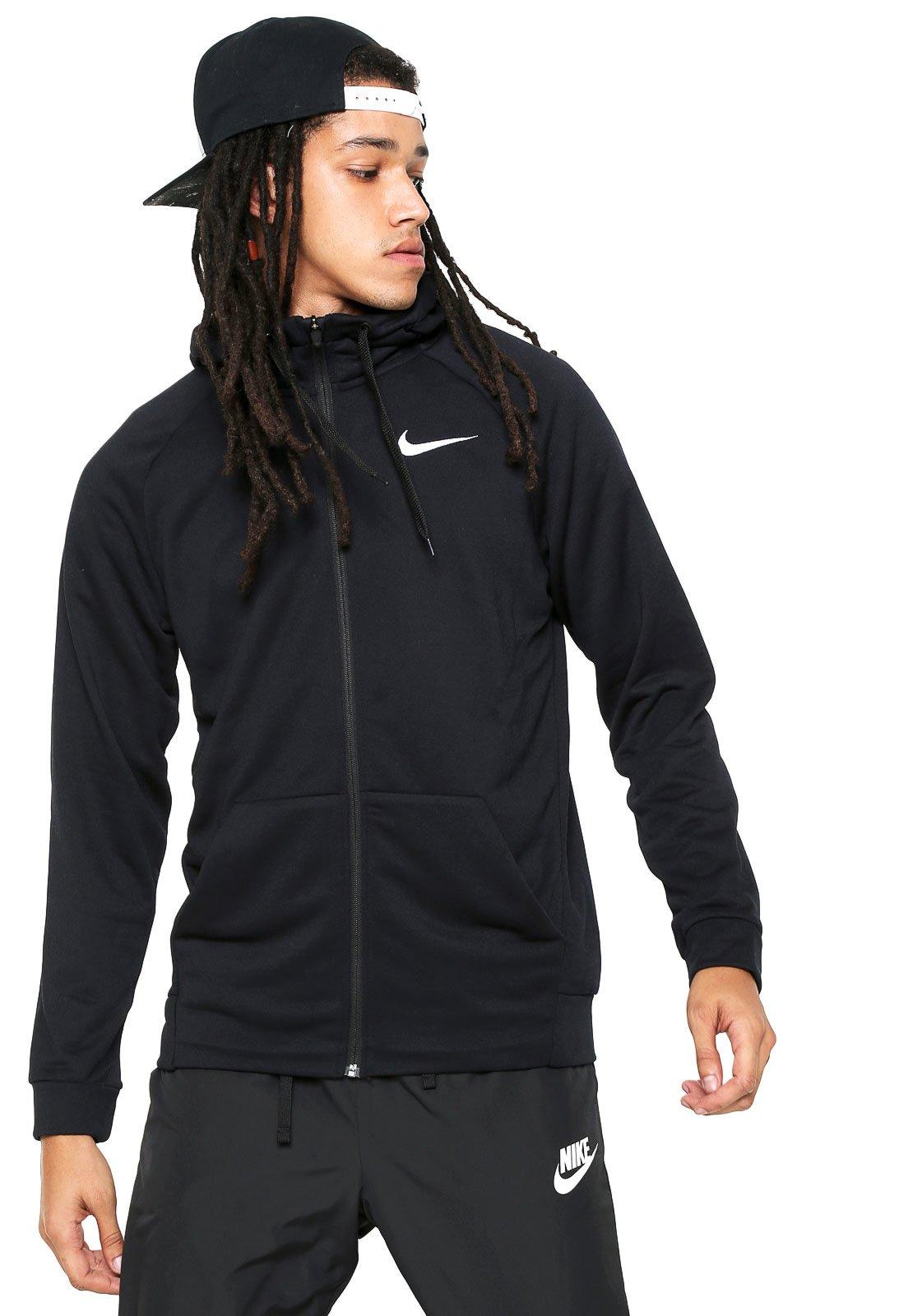 b3dec652afc Moletom Aberto Nike Dry Hoodie Fz Fl Preto - Compre Agora