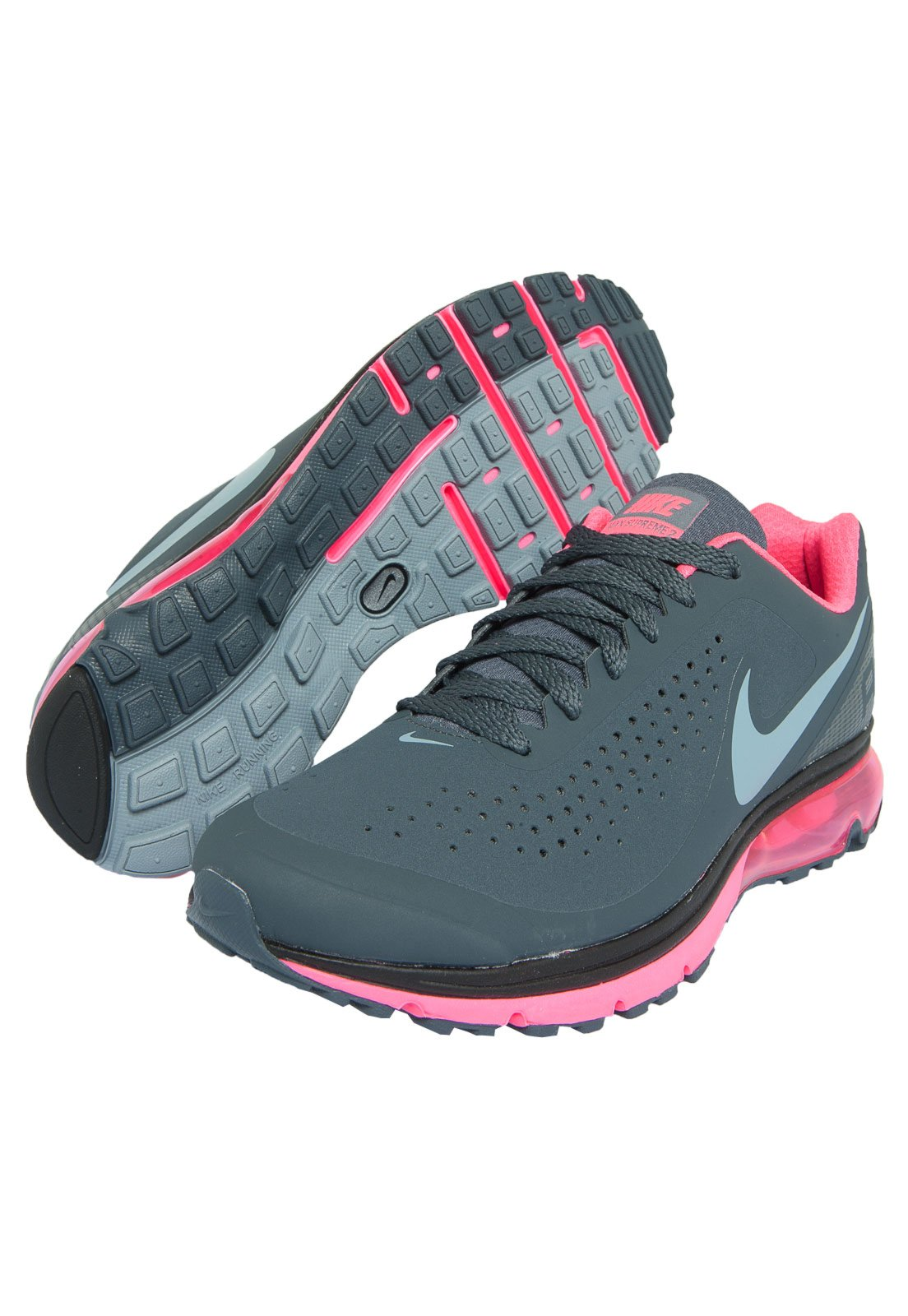 new concept bedb9 dbf9b switzerland nike womens air max supreme 3 running shoes tenis nike cinza  feminino 5e7b2 274bd