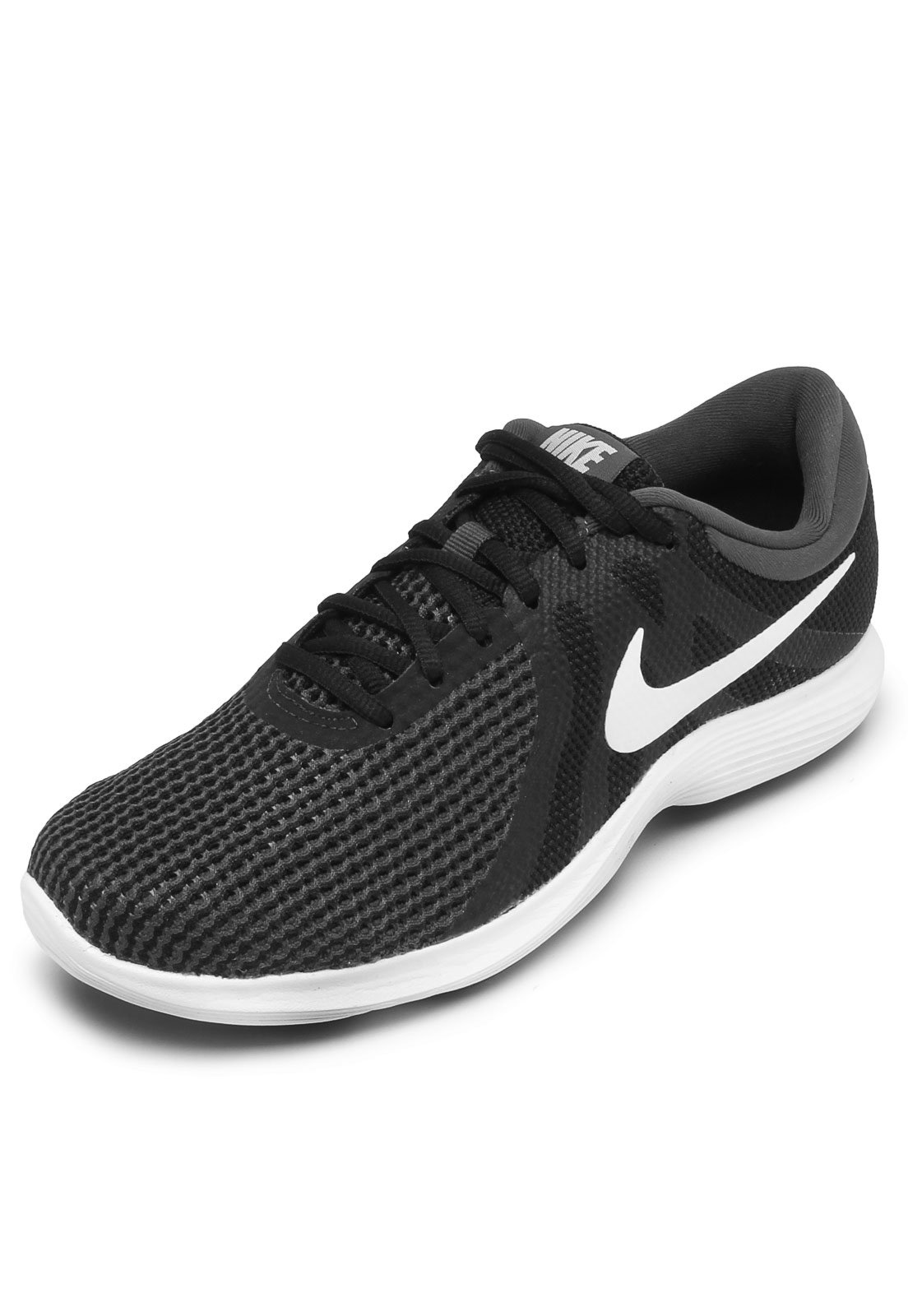 quality design 5b70f be3f7 Tênis Nike Revolution 4 Preto/Branco - Compre Agora | Kanui Brasil
