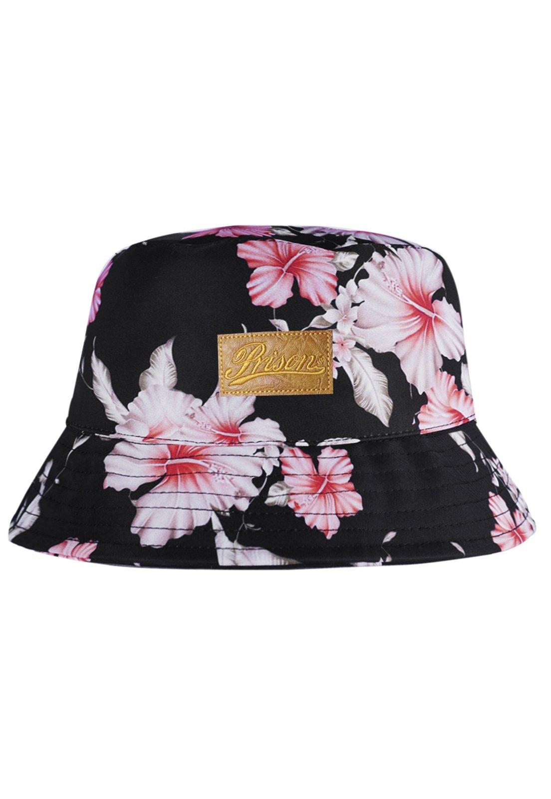Bucket Hat Prison Floral Swag Preto - Compre Agora  473180d5f045
