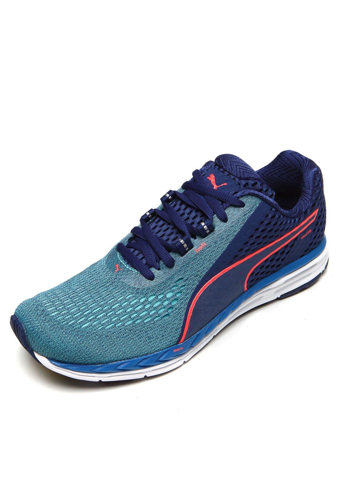 Tênis Puma Speed 500 Ignite Azul - Compre Agora  d731700c86d