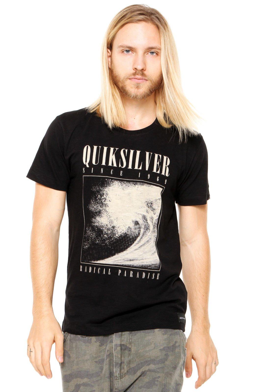 Camiseta Quiksilver Both Preta - Marca Quiksilver ... 75c1b7f99c0