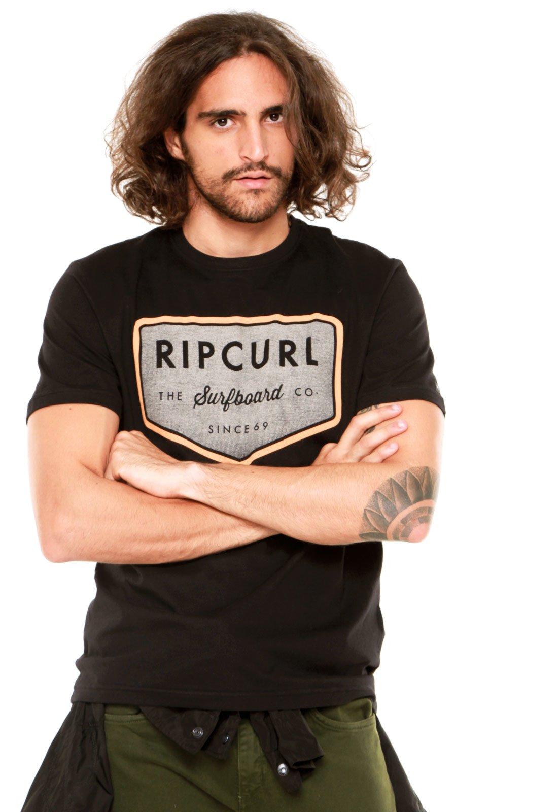 Camiseta Rip Curl Drive Preta - Marca Rip Curl ... 5e4e428308b