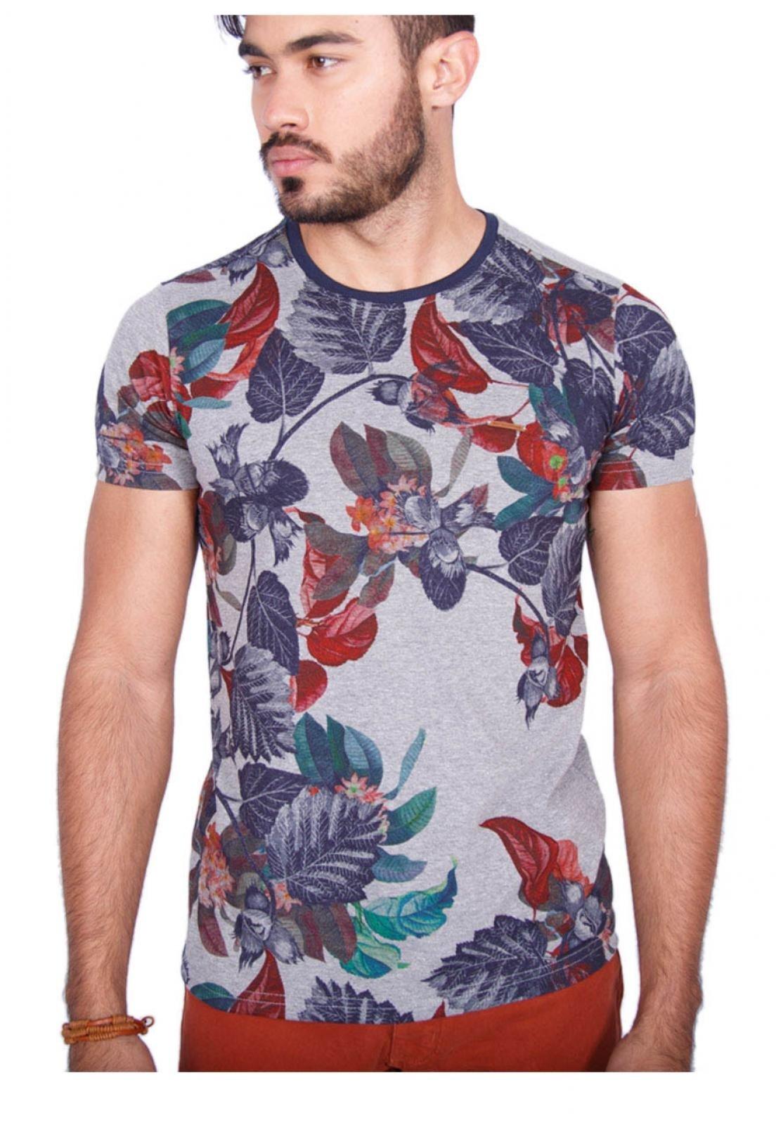 4b7fad2bd5d3d ... beeabf8509b Camiseta Rota do Mar Floresta Tropical Vermelho - Compre  Agora Kanui Brasil ...