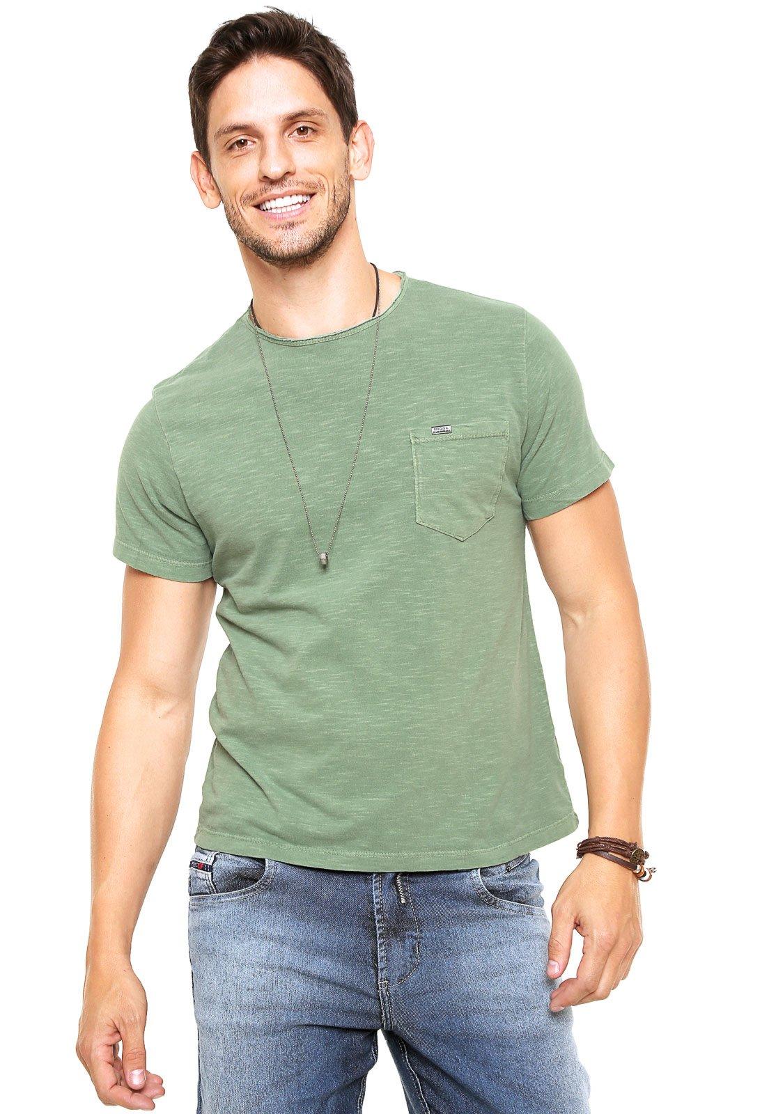 2ccc81552e Camiseta Sergio K Bolso Verde - Marca Sergio K ...