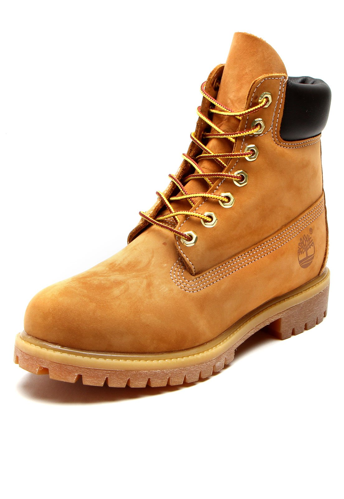 Bota Couro Timberland Yellow Boot 6in Premium Boot WP Caramelo - Compre  Agora  df2025b7b841d
