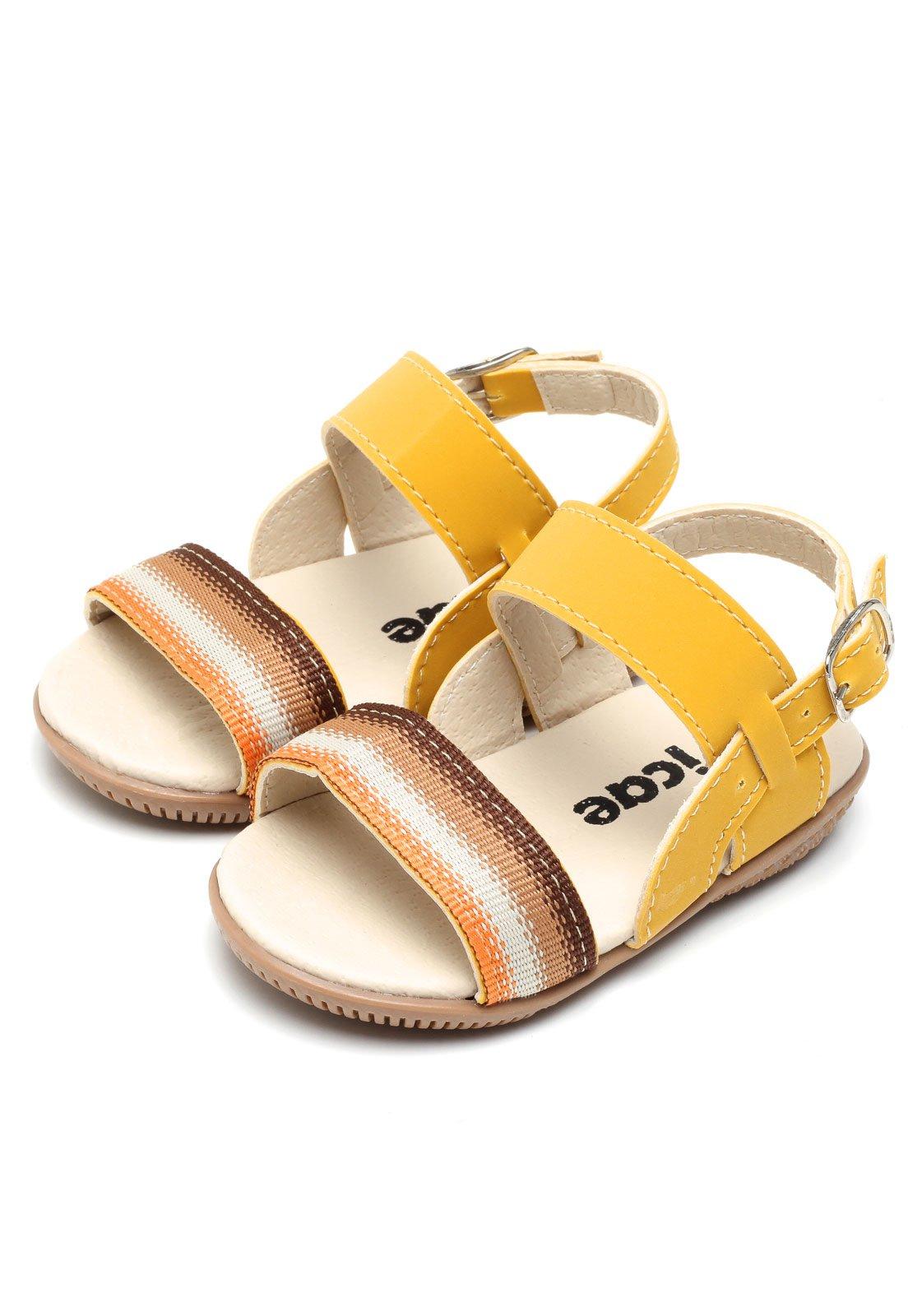 bd5958011e Sandália Tricae Menino Amarelo - Compre Agora