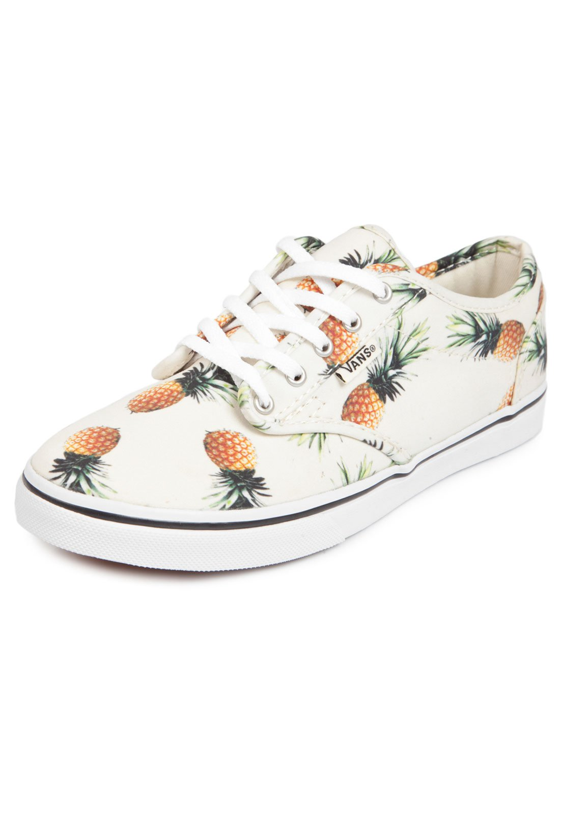 57f06898cb Tênis Vans Atwood Low Pineapple Branco - Compre Agora