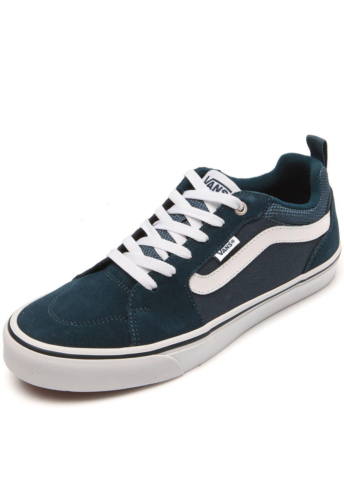Tênis Vans Mn Filmore Azul - Compre Agora  4bcacd78c2a