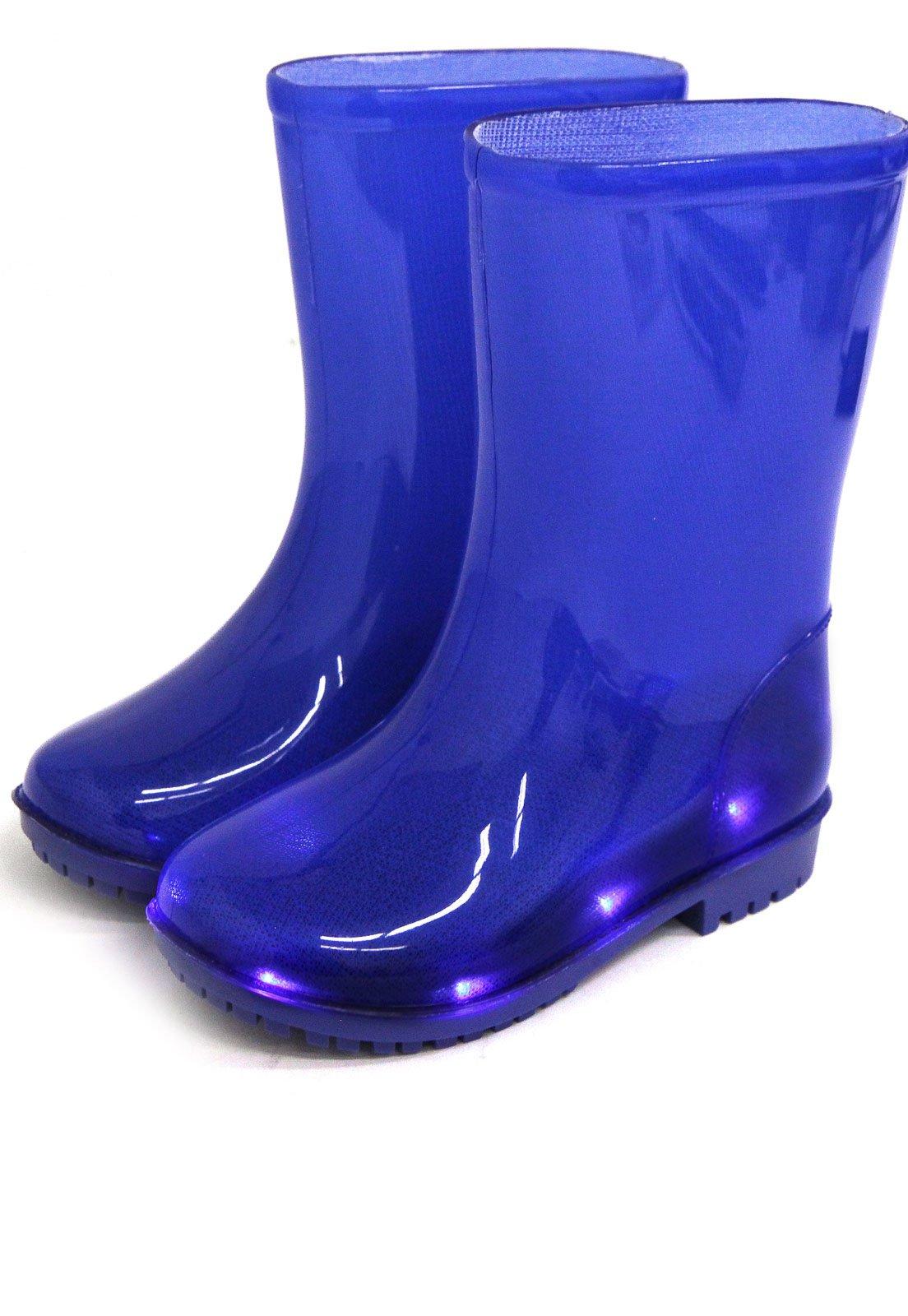 01a3f953392 Galocha World Colors Tom Led Azul - Compre Agora