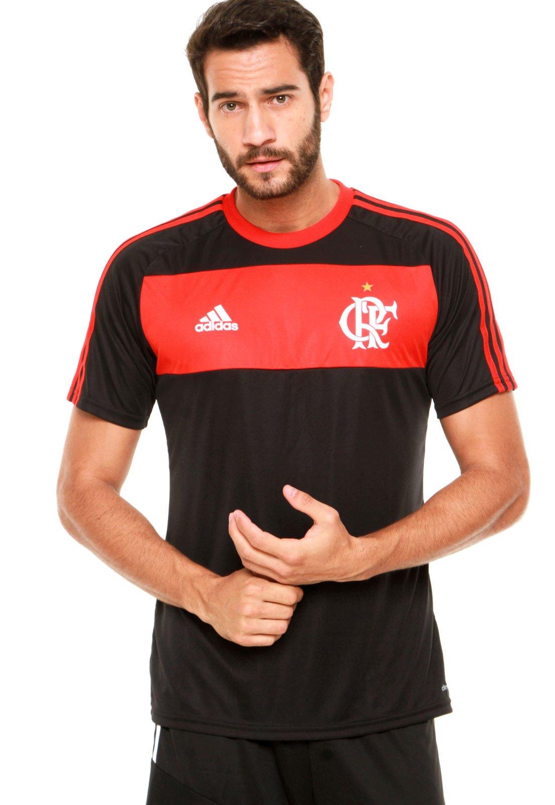 894b807d62 Camisa adidas Flamengo I Preta Vermelha - Compre Agora
