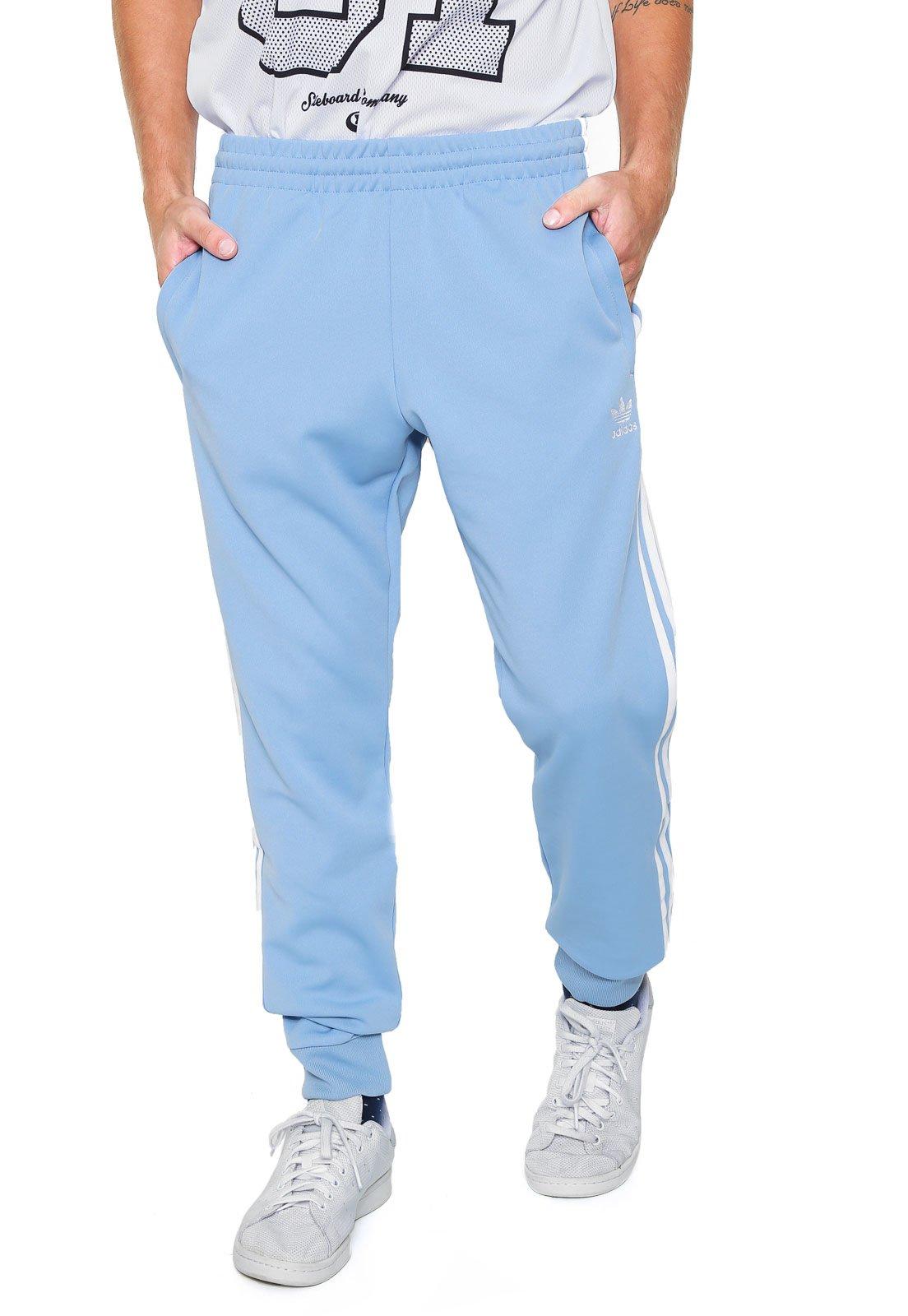 Calça Jogger adidas Originals SST TP Azul Branca - Compre Agora ... f61705f8947ca